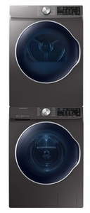 """WW22N6850QX Samsung 24"""" Front Load Washer with QuickDrive and PowerFoam - Inox Grey"""