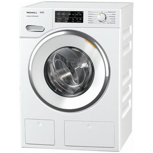 """WWH660 Miele 24"""" Front Load Washing Machine with Honey Comb Drum and TwinDos - White"""