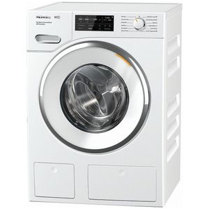 "WWH860 Miele 24"" Front Load Washing Machine with Honey Comb Drum and TwinDos - White"