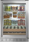 "ZDBR240NBS Monogram 24"" Beverage Center - Stainless Steel"