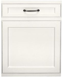 "ZDT925SINII Monogram 24"" Smart Fully Integrated Dishwasher with 42 dBa and Third Rack - Custom Panel"