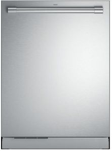 "ZDT925SPNSS Monogram 24"" Statement Collection Smart Fully Integrated Dishwasher with 42 dBa and Third Rack - Stainless Steel"