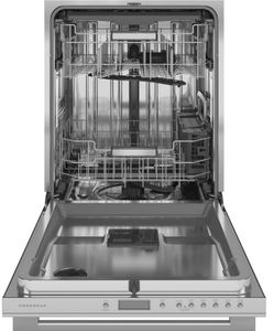 "ZDT925SSNSS Monogram 24"" Minimalist Collection Smart Fully Integrated Dishwasher with 42 dBa and Third Rack - Stainless Steel"