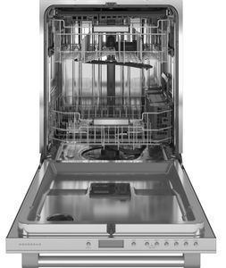 """ZDT985SPNSS Monogram 24"""" Statement Collection Smart Fully Integrated Dishwasher with 39 dBa and Advanced Wash System - Stainless Steel"""