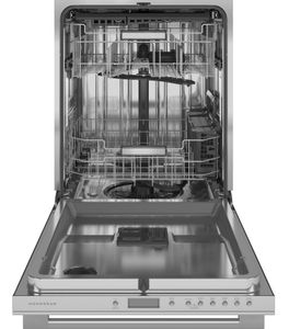 "ZDT985SSNSS Monogram 24"" Minimalist Collection Smart Fully Integrated Dishwasher with 39 dBa and Advanced Wash System - Stainless Steel"