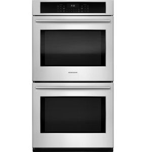 "ZEK7500SHSS Monogram 27"" Double Electric Wall Oven with True European Convection - Stainless Steel - CLEARANCE"