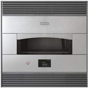 """ZEP30FLSS Monogram 30"""" Built-in Single Pizza Oven with Electric Heating Zones and Touch LCD Controls - Stainless Steel"""