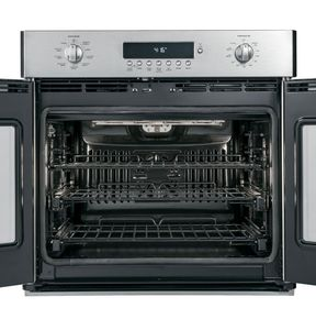 """ZET1FHSS Monogram 30"""" Built-in Electronic French Door Single Oven Brillion Enabled - Stainless Steel"""