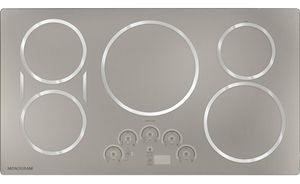 """ZHU36RSJSS Monogram 36"""" Induction Cooktop - Stainless Steel"""
