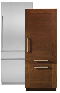 """ZIC30GNNII Monogram 30"""" Fully Integrated Customizable Refrigerator with Solid Door (for Single or Dual Installation) - Custom Panel"""