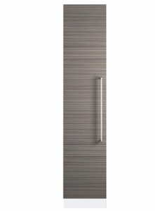 "ZIF180NPKII Monogram 18"" Built-In Integrated All Freezer Column with Removable Ice Storage and Water Filtration System - Custom Panel"