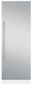 """ZKCSC304 Monogram 30"""" Panel with Euro Handle - Stainless Steel"""