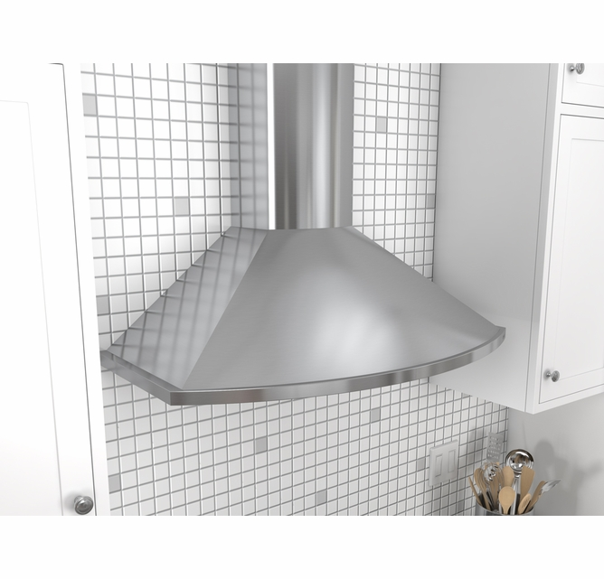Zsa E30ds Zephyr 30 Savona Wall Mount Chimney Range Hood With 685