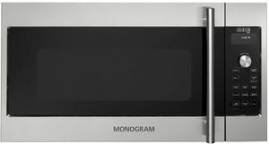 ZSA1201JSS Monogram Advantium 120 Above-the-Cooktop Speedcooking Oven with 300 CFM Venting - Stainless Steel
