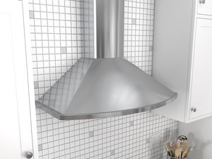 "ZSA-E30DS Zephyr 30""  Savona Wall Mount Chimney Range Hood with 685 CFM Blower - Stainless Steel"