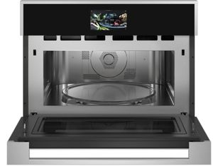 """ZSB9121NSS Monogram 27"""" Minimalist Collection Built-In Oven with Advantium Speedcook Technology - 120V - Stainless Steel"""