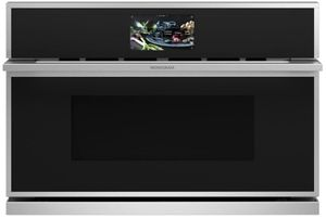 """ZSB9231NSS Monogram 30"""" Minimalist Collection Built-In Oven with Advantium Speedcook Technology - 240V - Stainless Steel"""