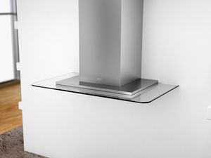 "ZVO-E30AG Zephyr 30"" Verona Wall Mount Hood with 715 CFM Blower - Glass & Stainless Steel"