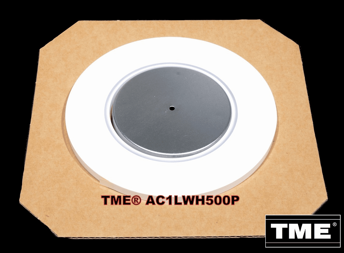 "Open Reel Audio Leader Tape Solid White 1/4"" X 500 FT on 3"" Core"