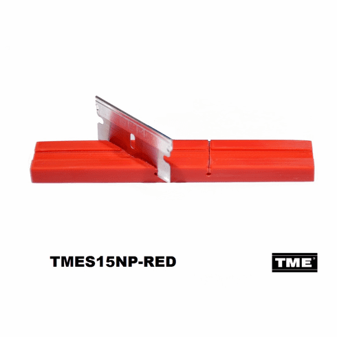 """Open Reel Audio Splicing Block Polymer RED for 1/4"""" Tape Media"""