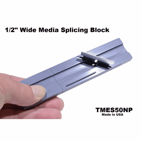 """Splicing Block for 1/2"""" Recording Tape Full Size"""