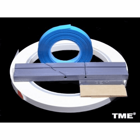 "Open Reel Audio Leader Tape White 1//4/"" X 250 FT Pancake by TME NEW!"
