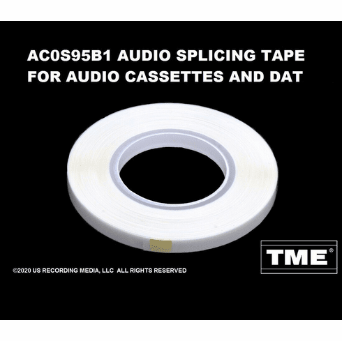 Splicing Tape for Audio Cassette and DAT Tapes