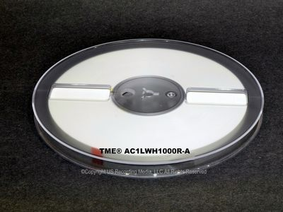 "TME™ Studio Grade Precision 1/4"" X 1000' Leader Tape on Reel LOC Spec  UPC# 858765005026"