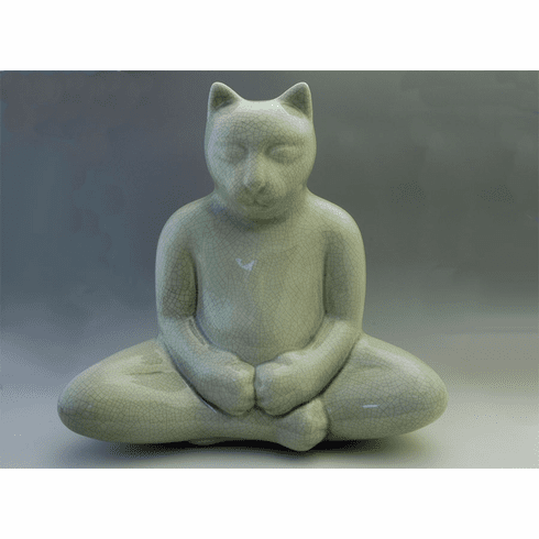 Large Buddha Cat