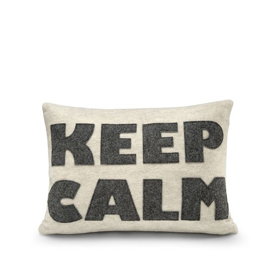 Alexandra Ferguson KEEP CALM Pillow