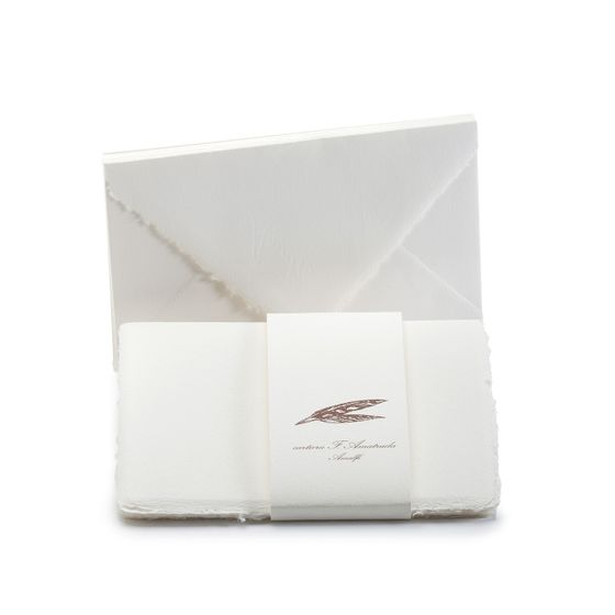 Amalfi Informal Folded Note Cards with Envelopes (8 ct) (3.5 x 5.25)
