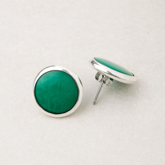 Andean Collection Sofia Earrings ( Jade )
