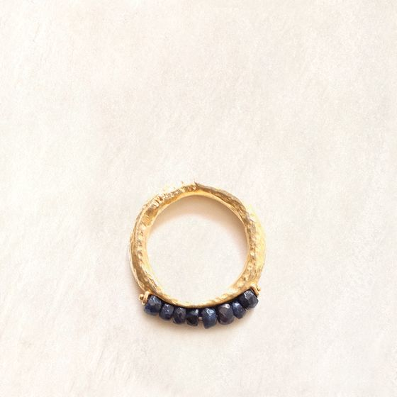 Avindy Sapphire Abacus Ring ( 7 )