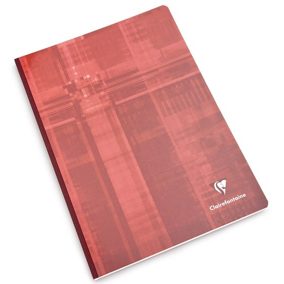 Clairefontaine A4 Cloth Bound Notebook (8.25 x 11.75) ( Graph (squared pages) [69142] )