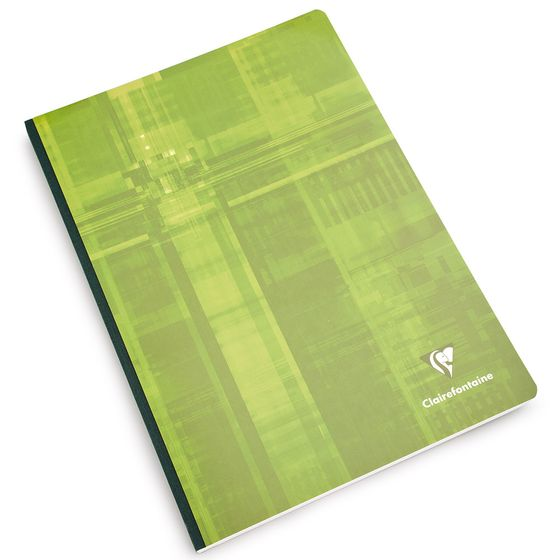 Clairefontaine A4 Cloth Bound Notebook (8.25 x 11.75) ( Ruled W/Margin (lined pages) [69145] )
