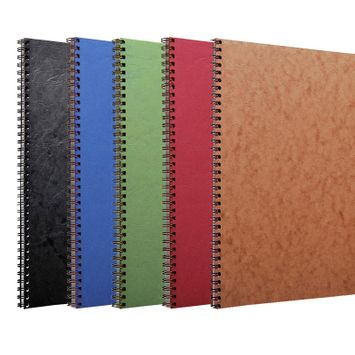 Clairefontaine Basics A4 Spiral Bound Notebook (8.25 x 11.75) in Black