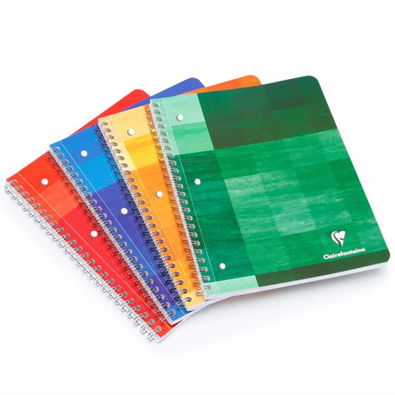 Clairefontaine Classic Extra Large Side Spiral Bound Notebook (8.5 x 11)