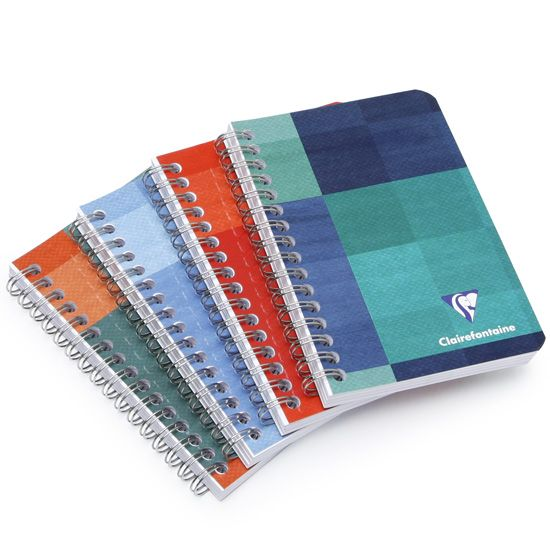 Clairefontaine Classic Pocket Side Spiralbound Notebook (3.5 x 5.5) ( Ruled (lined pages) [8506] )