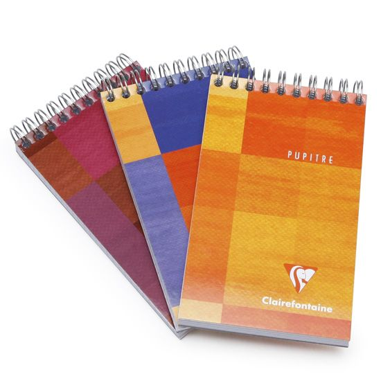 Clairefontaine Classic Pocket Top Spiral Bound Notepad (3.75 x 5.5) ( Graph (squared pages) [8622] )