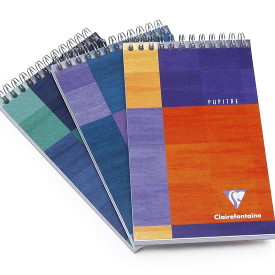 Clairefontaine Classic Pocket Top Spiral Bound Notepad (4 x 6.75) ( Graph (squared pages) [8642] )