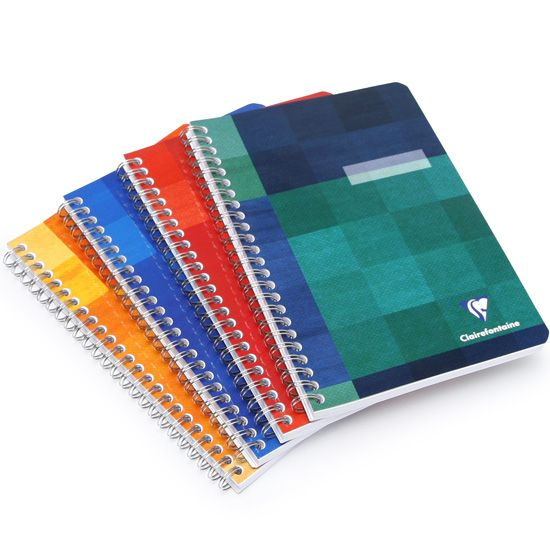 Clairefontaine Classic Side Spiral Bound Notebook (6 x 8.25) ( Graph (squared pages) [8542] )