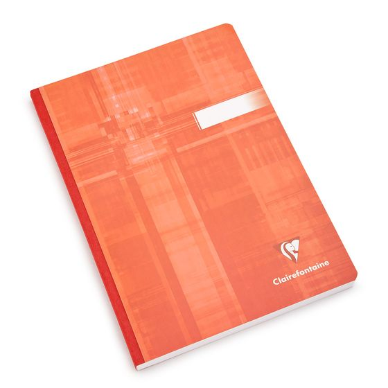 Clairefontaine Large Cloth Bound Notebook (6 x 8.25) ( Ruled (lined pages) [69546] )