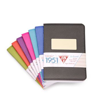 Clairefontaine Pocket Vintage Notebooks (1951 Series) (3.5 x 5.5) in Assorted Colors