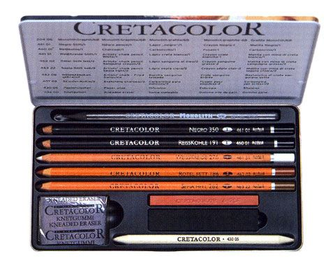 Cretacolor Artino Skizzenset Basic Drawing Set