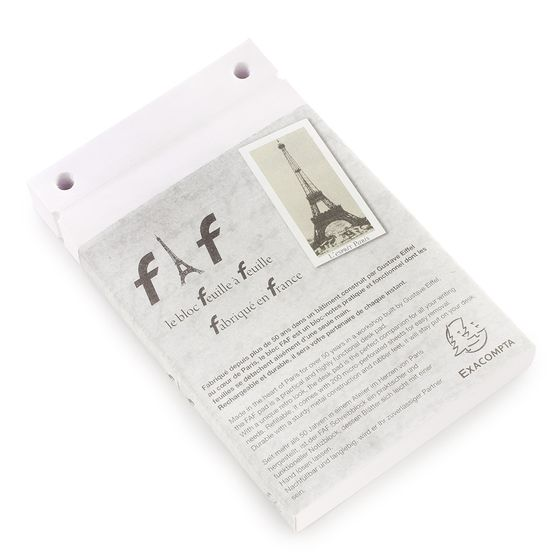 Exacompta Feuille a Feuille (FAF) Pad Refill #3 (4.25 x 7.25) ( Plain (blank pages) )