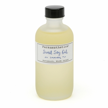 Farmaesthetics Sweet Soy Body Oil in Field Lavender