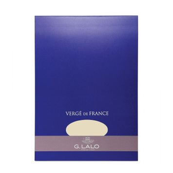G. Lalo Verge De France Medium Tablet (5.75 x 8.25) in Champagne