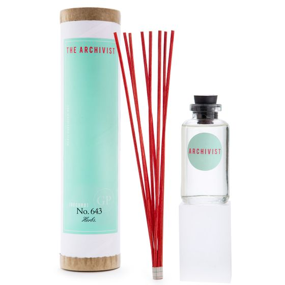 Greenmarket Purveying Co. The Archivist Scented Diffuser ( No. 643 Herbs )