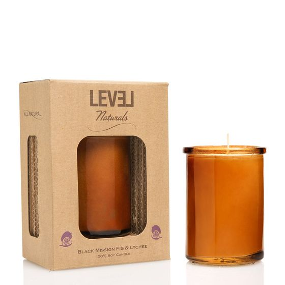 Level Naturals Eco-Mod Candle ( Black Mission Fig )