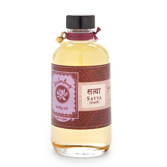 Lotus Love Beauty Bath and Body Oil ( Satya (Lavender & Sage) )